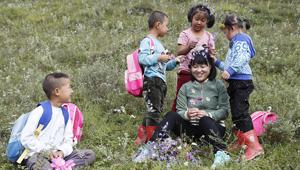 深山乡村女教师和她的四个学生