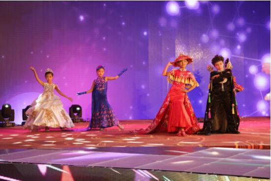 11月5号青岛即墨首届中国童装七彩节暨七彩年会开幕