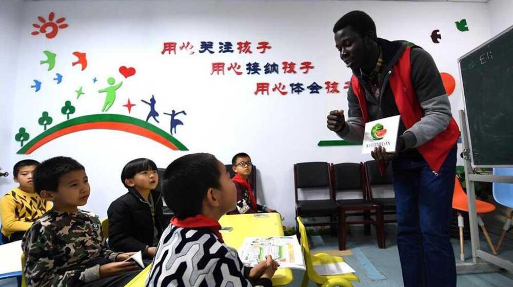 """河北张家口:社区""""四点半课堂""""受欢迎"""