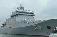 海军戚继光舰抵达斯里兰卡进行友好访问[图]