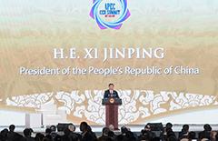 习近平出席亚太经合组织工商领导人峰会并发表主旨演讲[图]
