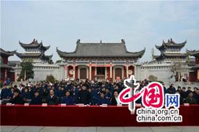 中国道教协会第九届玄门讲经巡讲活动在蕲春普阳观举行