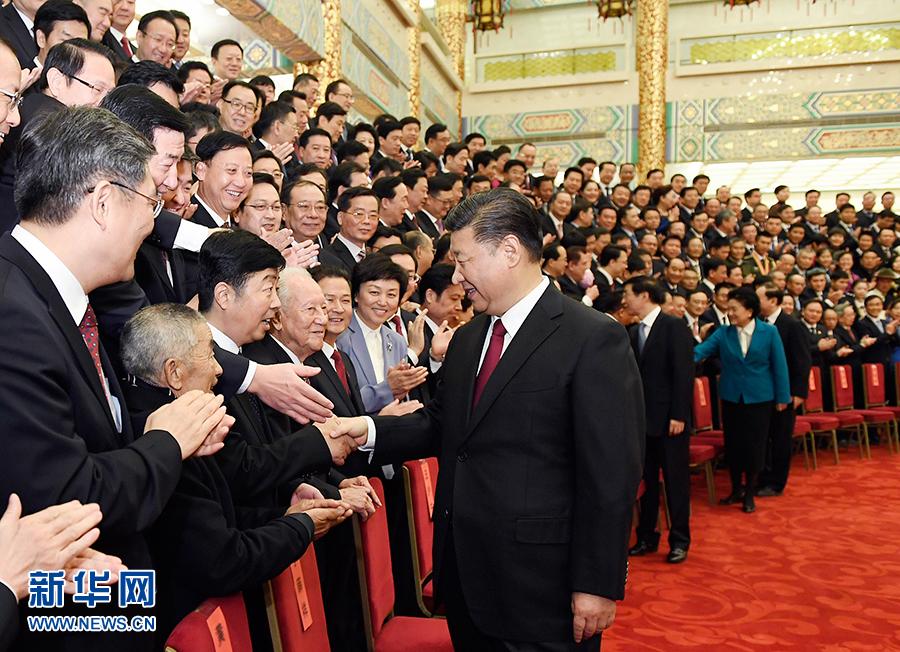 习近平总书记会晤全国品德榜样代表侧记