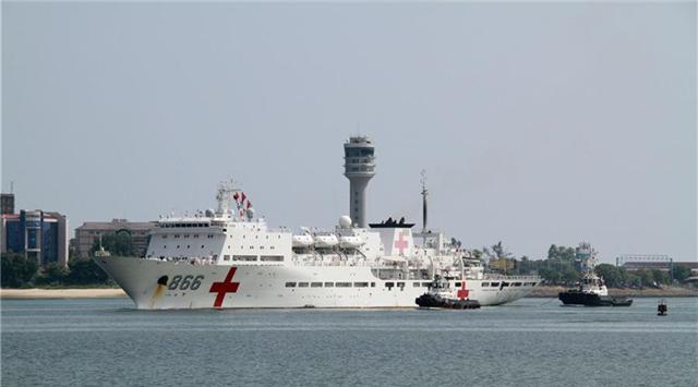 和平方舟醫院船時隔7年再訪坦尚尼亞