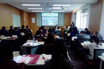 罗亚蒙教授在上海交通大学讲学现场