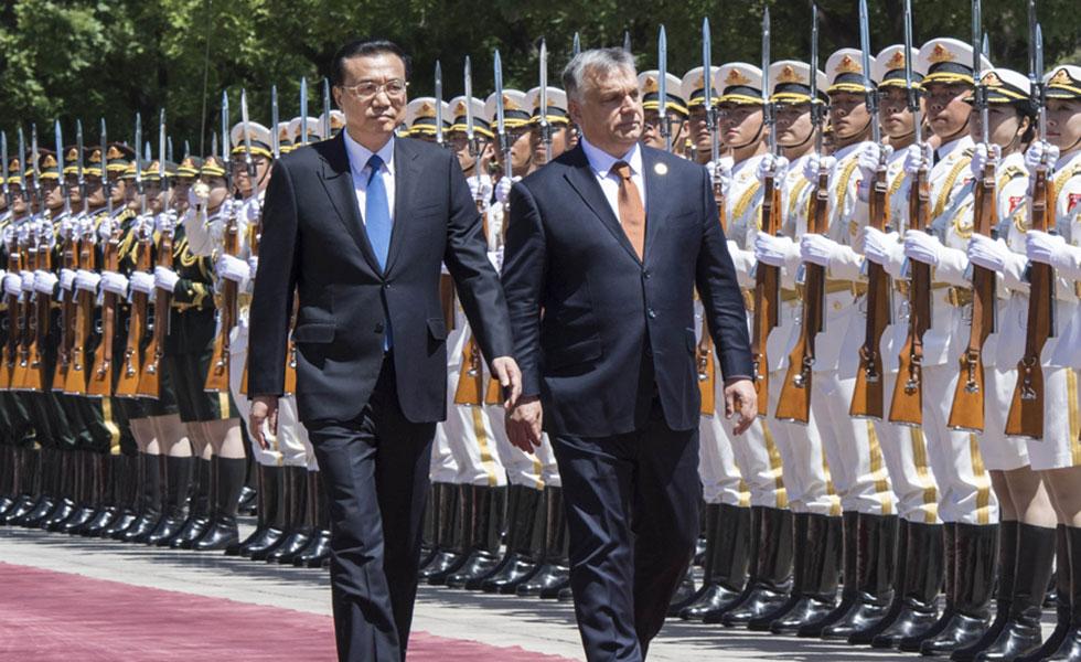 李克强同匈牙利总理欧尔班举行会谈