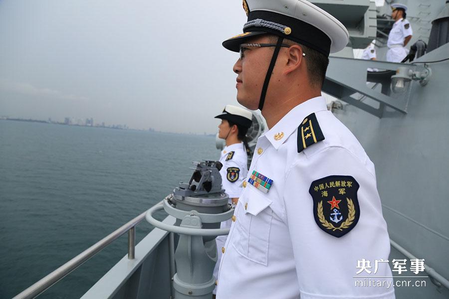 东盟海军中国舰参加郑州成立50周年飞狼舰队国际视频图片