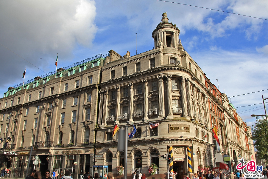 都柏林中心酒店建築