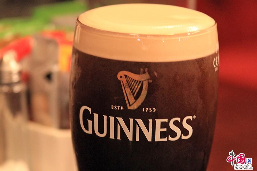 吉尼期的啤酒是愛爾蘭的驕傲