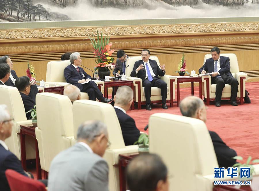 李総理、人民大会堂で日本経済界訪中団と会談関連記事