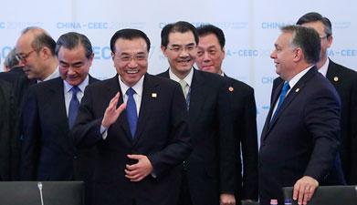 李克强出席第六次中国-中东欧国家领导人会晤