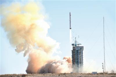 我国成功发射陆地勘查卫星二号