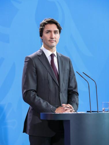 资料图片:加拿大总理特鲁多。新华社记者 单宇琦 摄