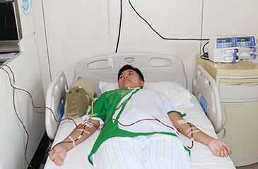 驻区国企员工成西城区第15例造血干细胞捐献者