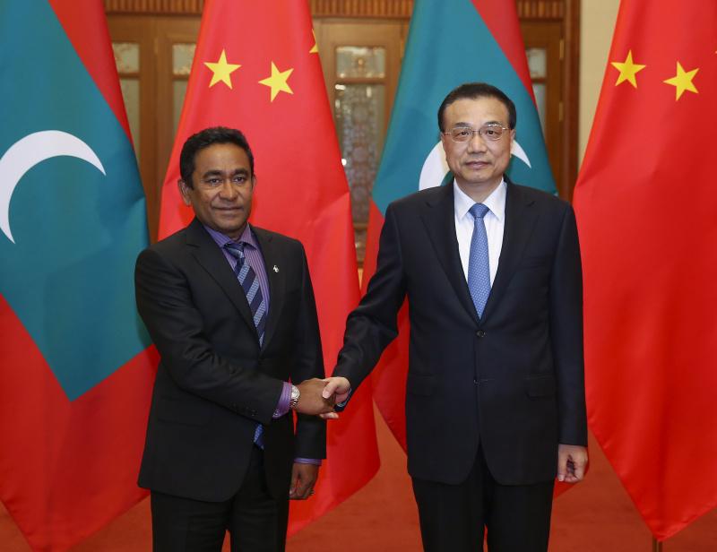 李克强:望马尔代夫为中国游客提供更多便利