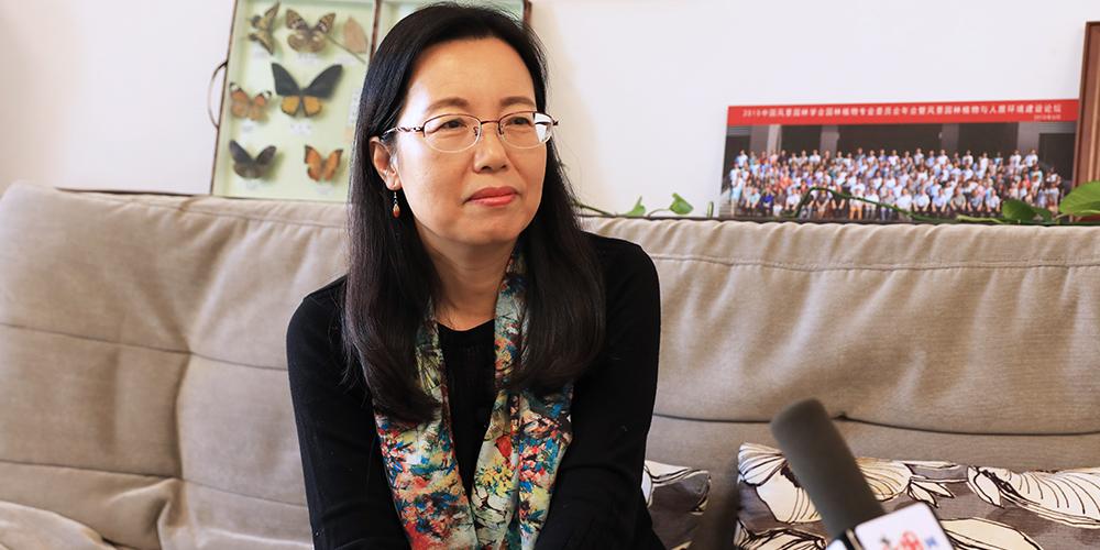 北京林业大学园林学院教授——董丽