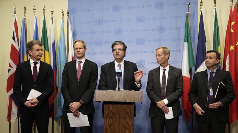 欧盟五国常驻联合国代表反对美国承认耶路撒冷为以首都