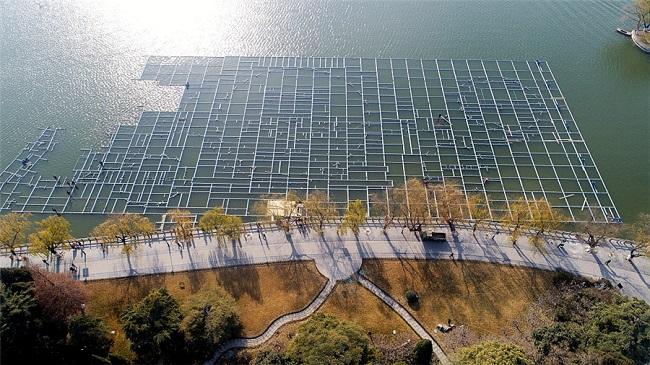 济南:大明湖开建超级喷泉 总面积达1万平方米