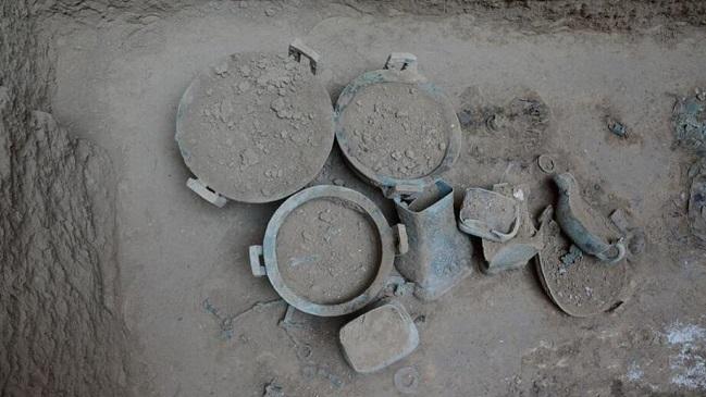 陕西发现规模最大春秋时期周系墓葬