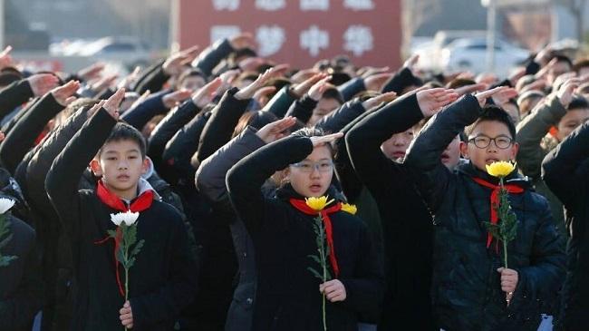 国家公祭日 全国多地悼念南京大屠杀死难者