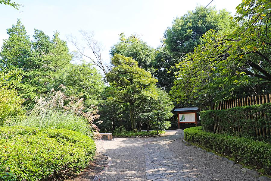 江户:殿谷户庭园之入口与马车道