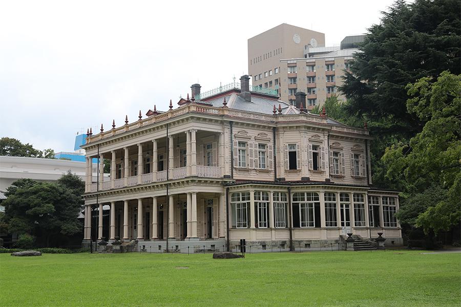 江户:旧岩崎邸庭园之洋馆建筑