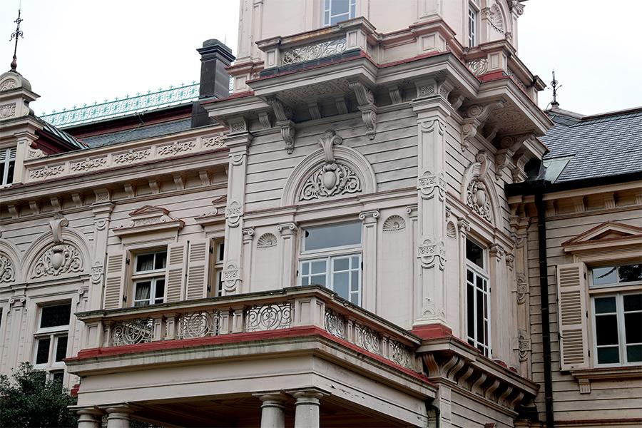 旧岩崎邸庭园之洋馆建筑(二)