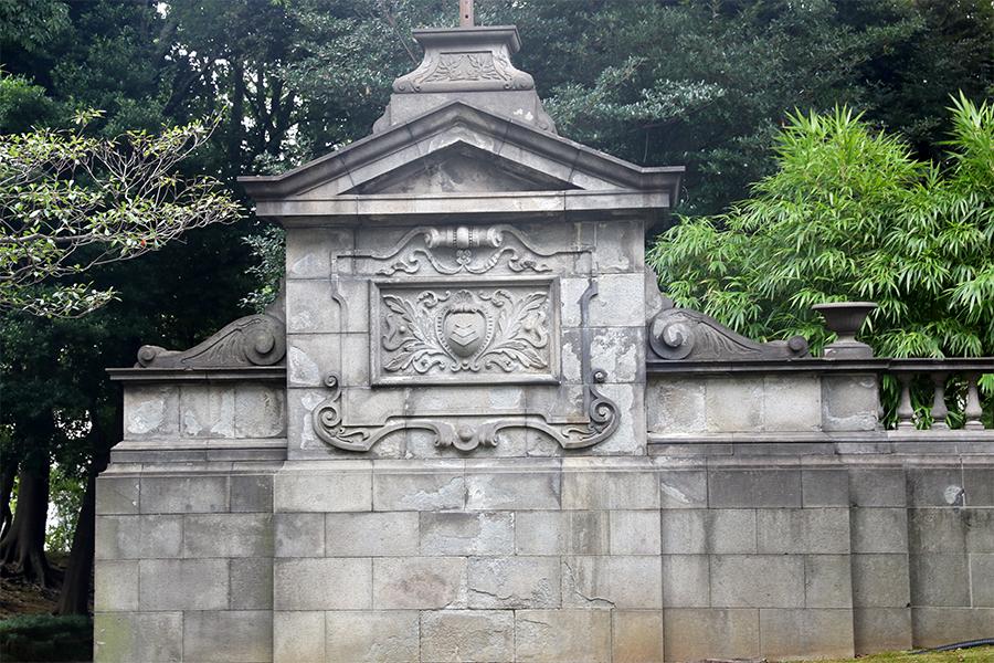 江户:旧岩崎邸庭园之炼瓦墙与围墙