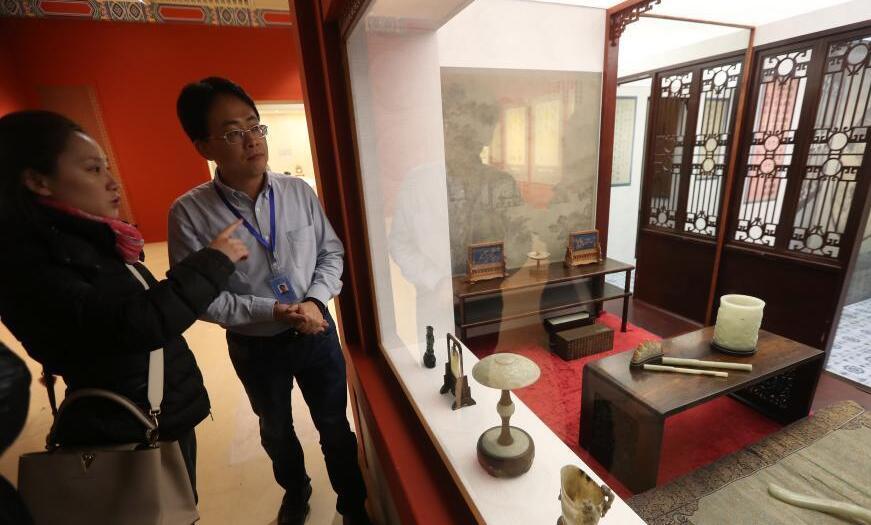 """北京故宮養心殿""""移駕""""南京博物院"""