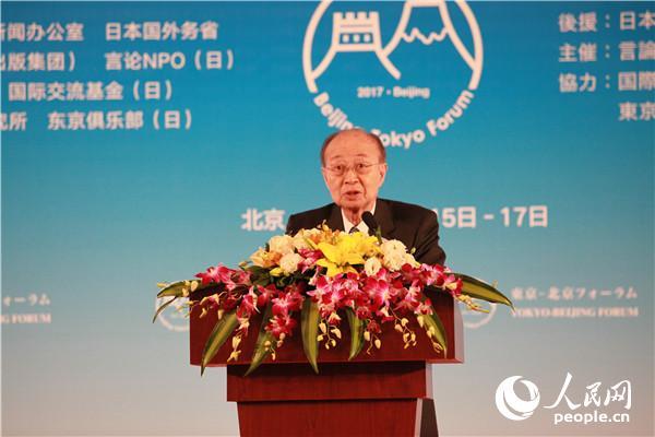 联合国原副秘书长明石康致辞