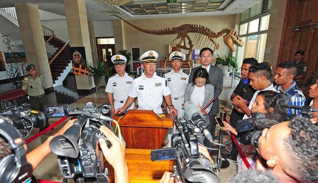 和平方舟醫院船首次訪問東帝汶獲高度評價