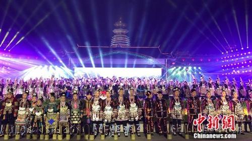 贵州黎平万人唱响侗族大歌被写入《基尼斯纪录大会》