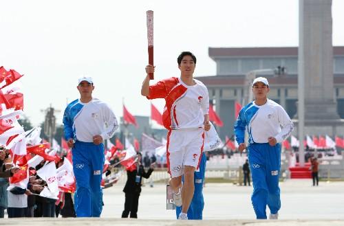 مراسيم تتابع الشعلة الأولمبية