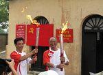 شعلة اولمبياد بكين فى عاصمة مقاطعة خبي