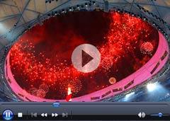 حفل الافتتاح لاولمبياد بكين للمعاقين (فيديو)