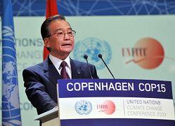 حضور رئيس مجلس الدولة الصيني قمة كوبنهاجن يبعث الامل والثقة الى العالم