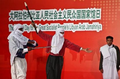 ليبيا تحتفل باليوم الوطني لجناحها فى معرض شانغهاى العالمى