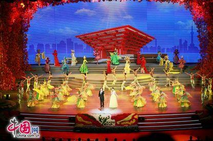 عروض فنية ليلية في يوم الجناح الوطني الصيني (صور)