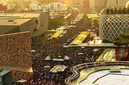 معرض شانغهاي العالمي يستقبل أكثر من 1.03 مليون زائر يوم 16 أكتوبر