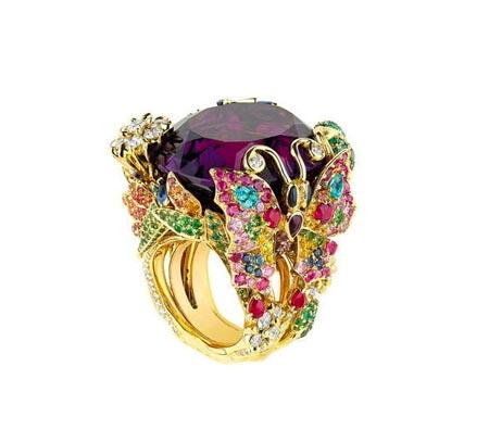 الخواتم المرصعة بالمجوهرات الكريمة لماركة ديور 001372acd3a20f8a1af4