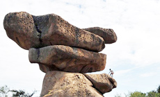 Der Park der 'Balancing Rocks' in Harare