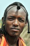 وجه أفريقي