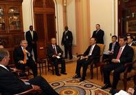 نائب الرئيس الصينى يجتمع مع قادة الكونجرس الامريكى