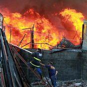 كارثة حريق في مانيلا تشرد أكثر من 600 أسرة
