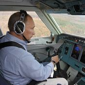 الرئيس الروسي يعتزم الذهاب إلى العمل بطائرة مروحية