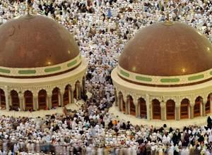 مليونا مسلم يصلون إلي مكة المكرمة لأداء فريضة الحج