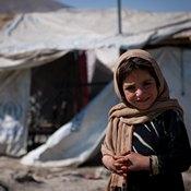 أطفال في مخيمات لاجئين بالعاصمة الأفغانية كابول (خاص)