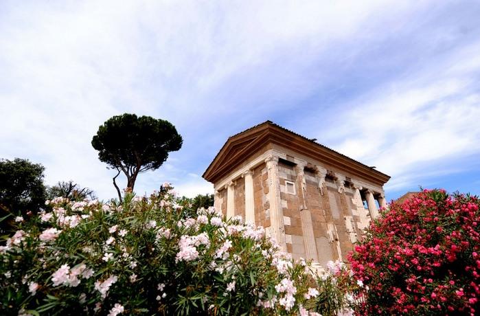 معبد بورتونو في روما يعاد فتحه للجمهور (خاص)