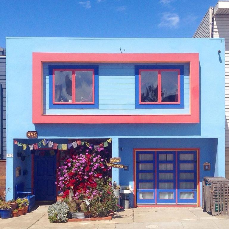 الوان منازل ألوان منازل سان فرانسيسكو الوان منازل