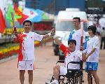 Fin du relais de la Flamme olympique à Tangshan